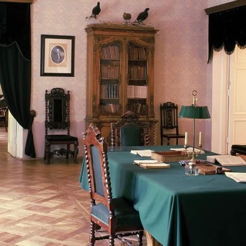 Интерьеры музея Некрасова