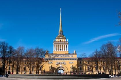 Александровский сад в Петербурге