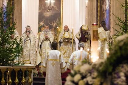 Начало «Святок» в соборе Пресвятой Богородицы