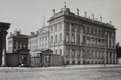 Аничков дворец, фото начала 1870-х гг., фотограф Фелиш
