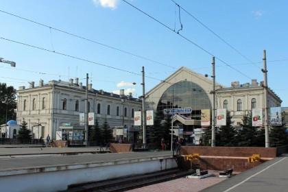 Вид на Балтийский вокзал в СПб