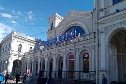 Здание Балтийского вокзала в СПб