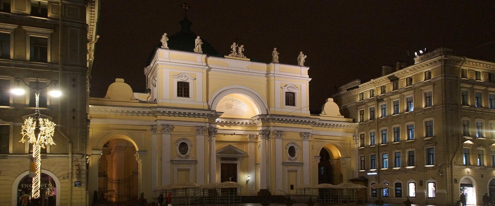 Церковь Святой Екатерины в СПб