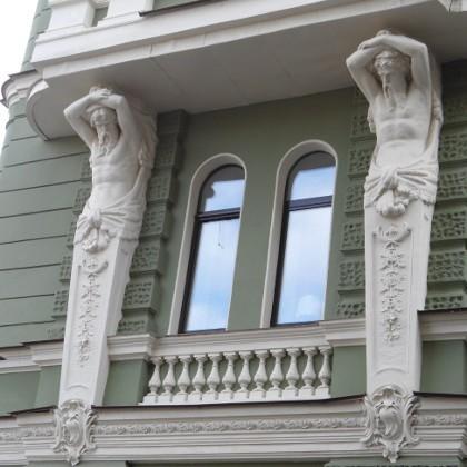 Декор доходного дома Колобовых в СПб