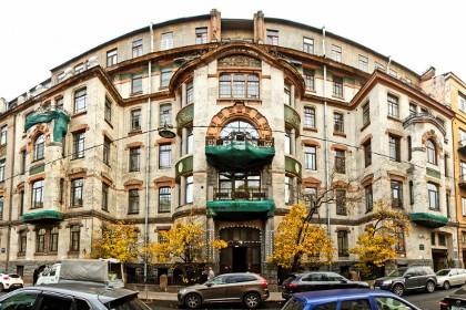 Дом архитектора А.С. Хренова в СПб