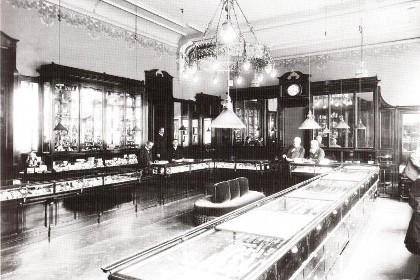 Торговые залы на 1-м этаже дома Фаберже в СПб