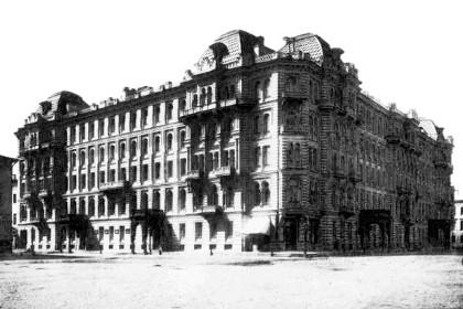 Дом Мурузи в конце 19 века в СПб