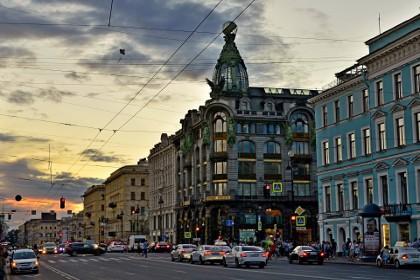 Дом Зингера на Невском проспекте в Петербурге