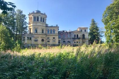 Вид на Михайловскую усадьбу в СПб