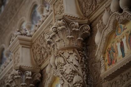 Интерьер Феодоровского собора в СПб