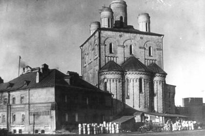 Молокозавод в Феодоровском соборе,  1938 г.