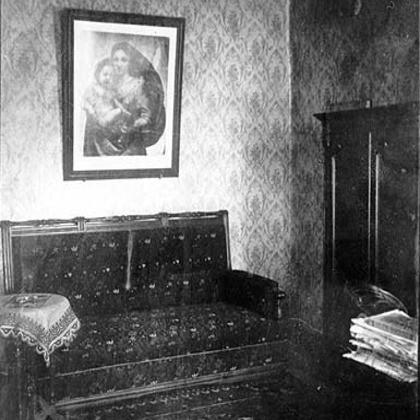 Фотография кабинета Федора Достоевского в СПб
