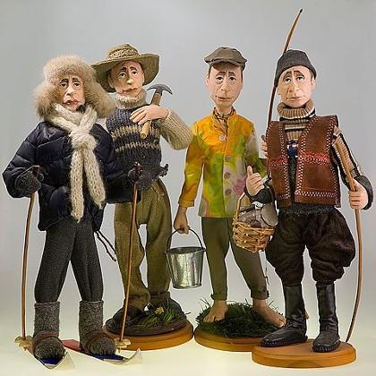 Экспонаты Галереи кукол СПб