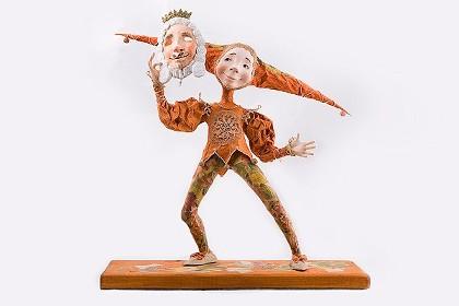 Очаровательная кукла Варвары Скрипкиной