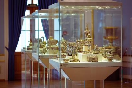 Шуваловский дворец и музей Фаберже