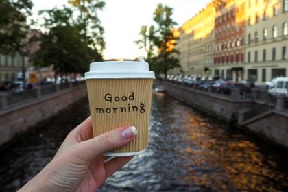 Ранее утро в Санкт-Петербурге