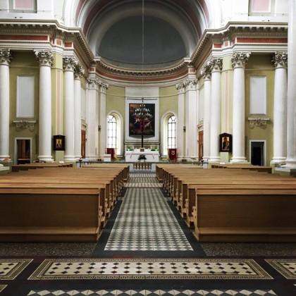 Интерьер базилики святой Екатерины Александрийской в СПб