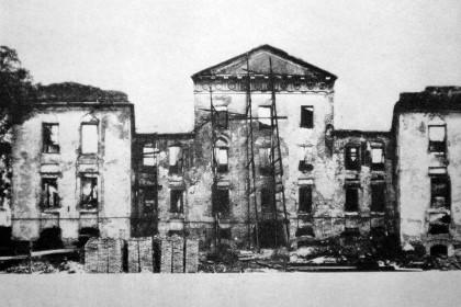 Кикины палаты в СПб после войны