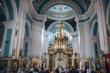 Князь-Владимирский собор в СПб внутри