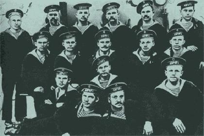 Участники октябрьского восстания 1917 г
