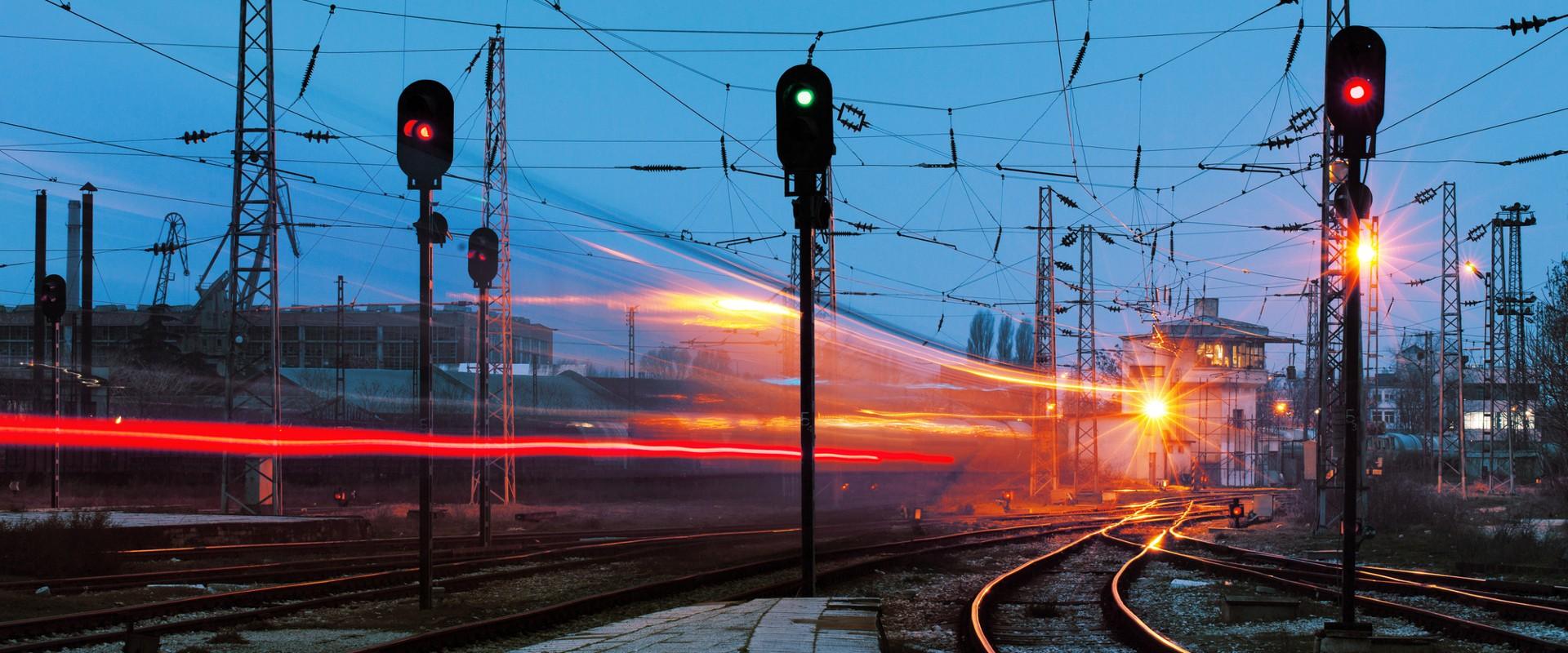 Железнодорожные пути Ладожского вокзала