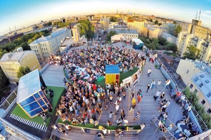 Крыша Лофт проекта Этажи в СПб