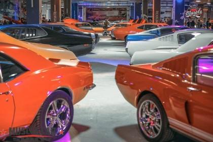 Экспонаты Muscle Car Show в СПб