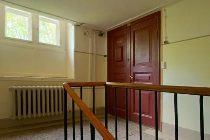 Входная дверь в квартиру Ахматовой в Фонтанном доме