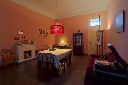 Столовая в квартире Ахматовой в Фонтанном доме