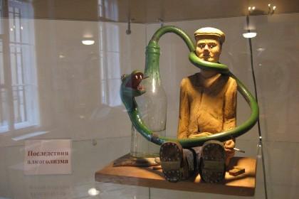 Зал «Профилактика вредных привычек» в Музее гигиены в СПб