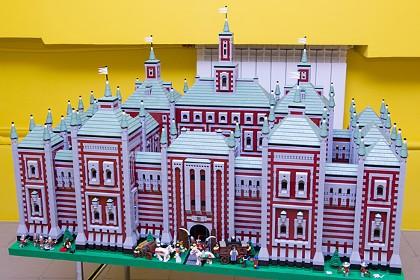 Музей из Лего Polekon в СПб