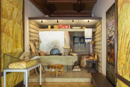 Экспозиция «Печной угол в русской избе» в Музее хлеба