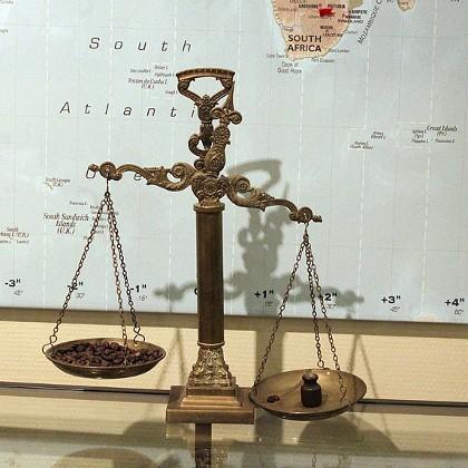 Экспонат в Музее кофе в СПб