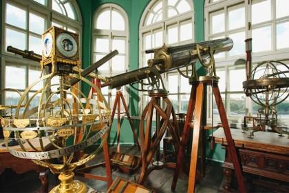 Экспозиция «Первая астрономическая обсерватория Академии наук» в СПб