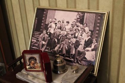 Общая фотография семьи Бенуа