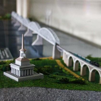 Экспонаты Музея мостов в СПб