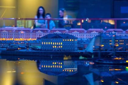 «Ночь» в музее Петровская акватория в СПб