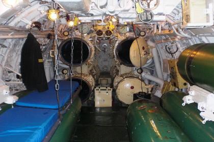 Отсек подводной лодки С-189 в Петербурге