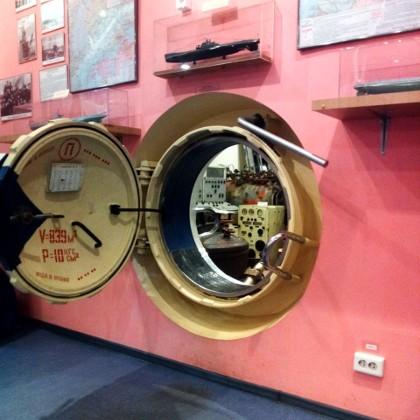 Музей истории подводных сил России в СПб