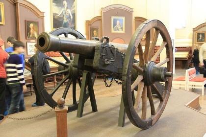 Экспонат в музее Суворова в СПб