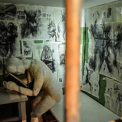 Комната ненависти в Музее эмоций в СПб