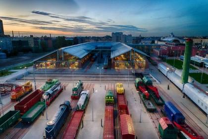 Музей железных дорог России в СПб