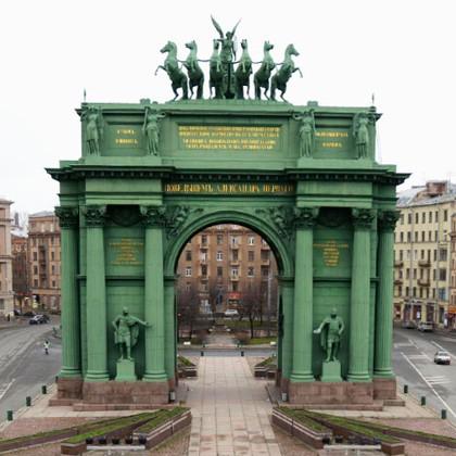 Нарвские триумфальные ворота в СПб