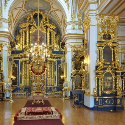 Интерьер Никольского Морского собора в СПб