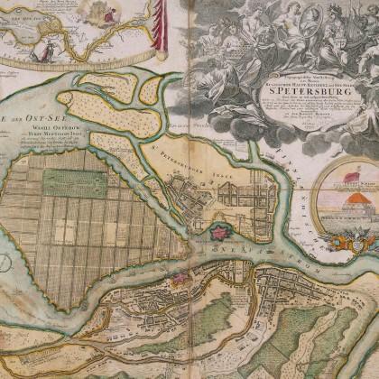Петропавловская крепость в СПб
