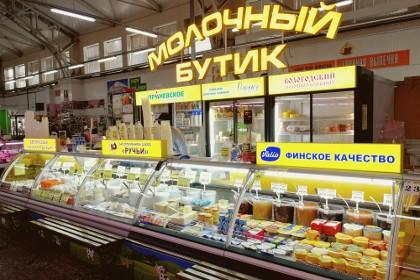 Секция «Продовольственные товары» «Полюстровского  Рынка»
