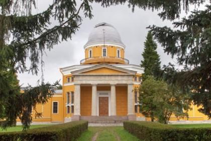 Центральная башня Пулковской обсерватории