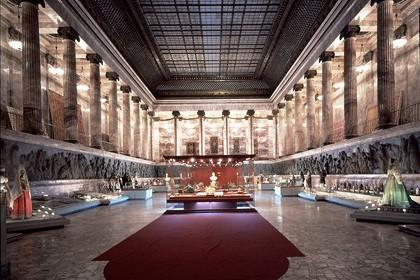 Экспозиция в Российском этнографическом музее в СПб