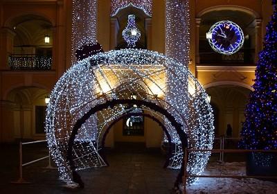 Новогоднее уличное украшение