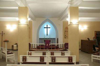 Богослужебный зал Собора Святого Михаила в СПб